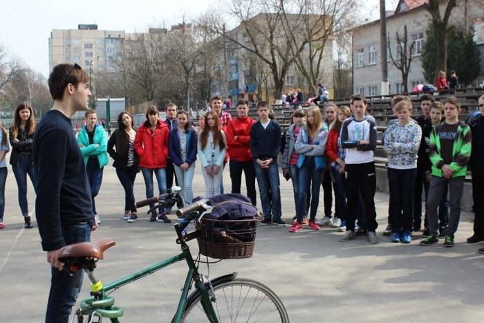 Велонавчання в школі Львів