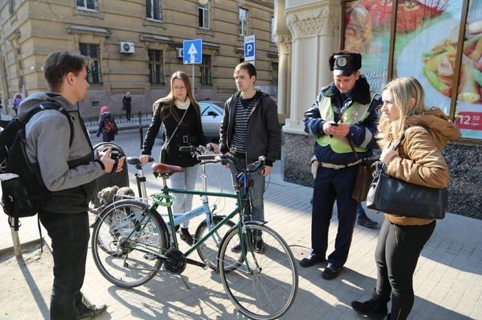 Рейд по велодоріжках Львів ЛАВ