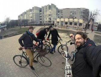 Зустріч з велоколегами з Лодзі та Варшави
